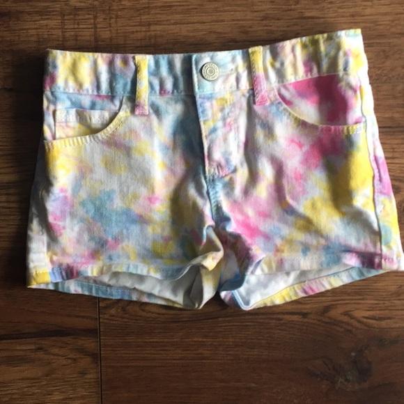 57a6e8ddf0 GAP Bottoms | 3 For 13 Girls Size 8 Tie Dye Jean Shorts | Poshmark